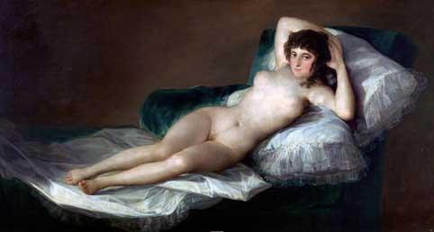 Goya Maja naga